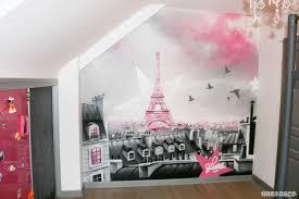 chambre a theme avec papier peint fille ado avec cuisine d co chambre theme