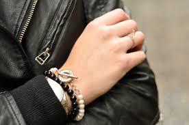onyx bracelet tiffany images Metallic the blonde salad jpg
