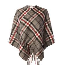 edinburgh 100 lambswool scottish tartan mini cape ebay