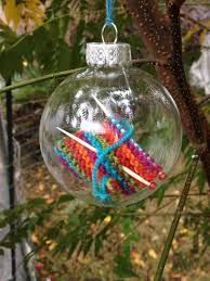 ravelry holeymolee s knit ornaments yarn bombing