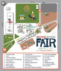 Western Montana Map by Western Montana Fair Missoula Fairgrounds Events Center Missoula