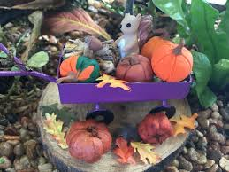 magical fall mega fairy garden teelie u0027s fairy garden