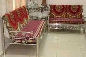 Buy Steel Sofa Set From Malviya Steel Beawar India ID - Steel sofa designs