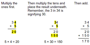 standard algorithm multiplication worksheets worksheets