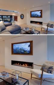 8 tv wall design ideas for your living room contemporist 8 tv wall design ideas for your living room the wooden frame around this