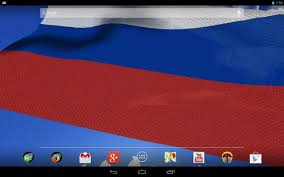 3d russia flag live wallpaper android apps on google play
