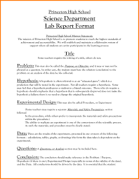 section 7 report template lab report template middle school 2 professional and high