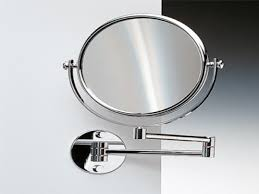 wall mounted magnifying mirrors for bathrooms wall mounted makeup