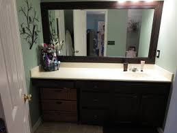 framing bathroom mirrors with crown molding