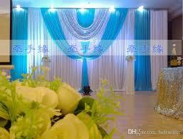 wedding backdrop design philippines 3m 6m silk fabric satin drape wedding backdrop curtain silver