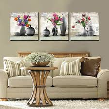 Vase Wall Decor Aliexpress Com Buy 3 Piece Flowers Vase Vintage Wall Decor