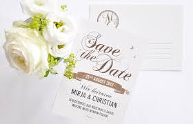 hochzeitskarten design save the date vintage script order at www