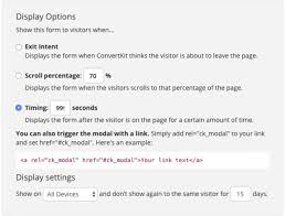 how to add multiple convertkit modal forms on one page by melissa