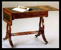 bureau style anglais bureau style anglais lyre en bois de meriiser meubles de style
