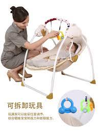 Electric Rocking Chair Electric Rocking Chair Bouncer Intelligent Baby Swing Chair Baby