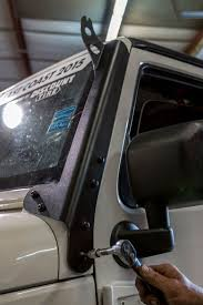 jeep jk light bar brackets quadratec led headlight lightbar review