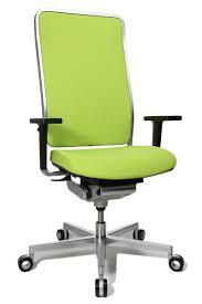 fauteuil de bureau haut siege ergonomique design avec cadre chromé wagner w1