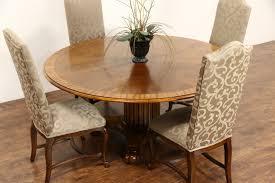 henredon dining room table sold henredon round 5 u0027 4