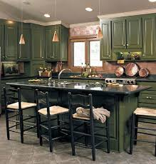 Best Gorgeous Green Kitchens Images On Pinterest Home - Green cabinets kitchen