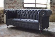 chesterfield velvet sofas ebay