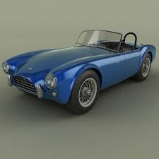 ac cobra 260 csx 2000 3d model cgtrader