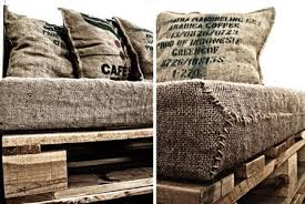 Pallet Sofa Cushions by 17 Best Images About Hessian Bag Couch On Pinterest Sofa Pillows
