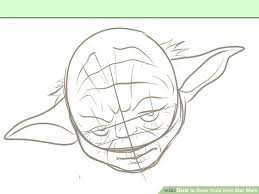 how to draw yoda from star wars 7 steps with pictures wikihow