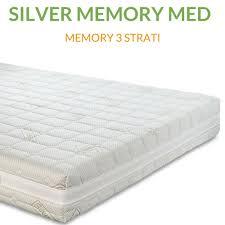 materasso memory silver materasso memory ortopedico dispositivo medico h20