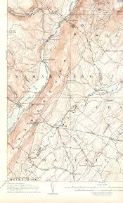 Usgs Quad Maps Ellenville Ny Quadrangle