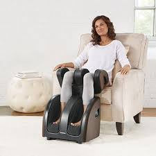 Brookstone Chair Massager Brookstone Therasqueeze Pro Foot Calf And Thigh Massager