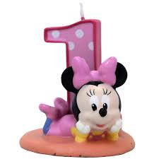 1st birthday candle minnie mouse 1st birthday cake candle 1 birthday ideas for