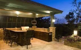 Outdoor Kitchen Lighting Outdoor Kitchen Contractor Clearwater Florida L Exterior