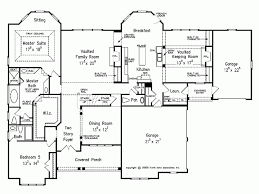 eplans new american house plan stately yet warm and welcoming