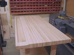 Ideal Woodworking Workbench Height by Workbench Wood Whats The Best Timber For Your Build Image On