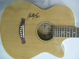 loretta lynn signed autograph acoustic guitar country coal miners