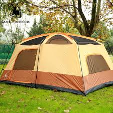 tent deck wnnideo double deck rainproof outdoor camping articles two