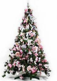Helms Christmas Tree Farm - pink and silver christmas tree decorations rainforest islands ferry