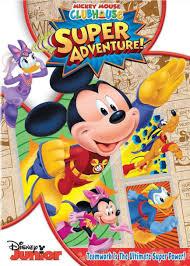 disney mickey mouse club house super adventure dvd toys