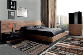 Modern Platform Bed Deimos Designer Modern Platform Bed By Mobenia Made In Spain