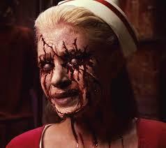 Silent Hill Nurse Halloween Costume Evil Eye Tattoo Clothes Tatuaje Bunny Silent Hill Silent Hill