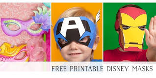 73 free printable masks kids