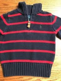 polo ralph lauren boys size 4 navy sweater vest euc ralph