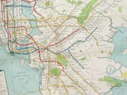 Old Nyc Subway Map by Clocktower Residencies