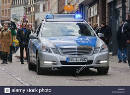 mercedes of germany german mercedes patrol car escorting parade
