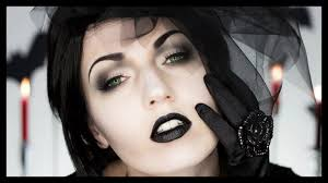 black widow victorian ghost halloween makeup youtube