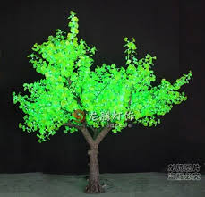 outdoor led tree lights artificial led ginkgo tree lighting