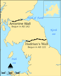 North America Wall Map by Hadrian U0027s Wall Wikipedia