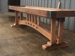 Crafstman Craftsman Shuffleboard Table The Industrial Farmhouse
