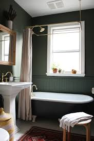 modern vintage clawfoot tub bathroom makeover victorian the