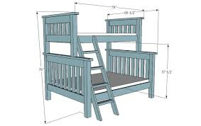 Free Loft Bed Plans Queen by Bunk Bed Plans